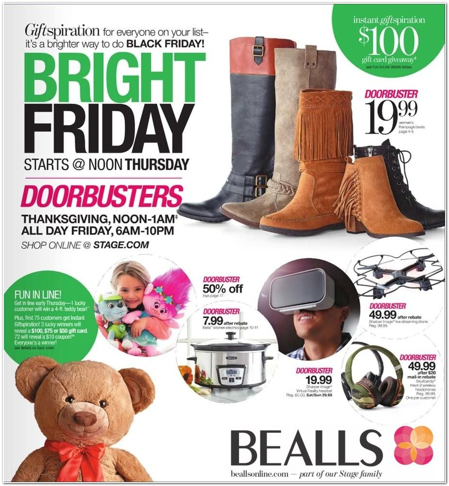 Bealls Black Friday page 1